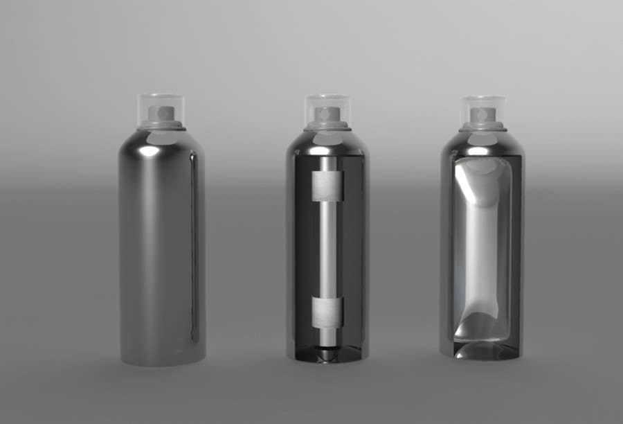 Konkurrenceindlæg #44 for Illustration to illustrate a new aerosol spray technology