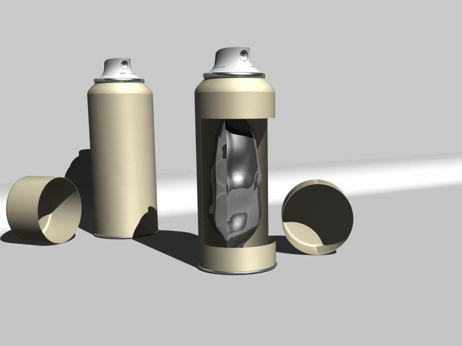 Inscrição nº                                         36                                      do Concurso para                                         Illustration to illustrate a new aerosol spray technology