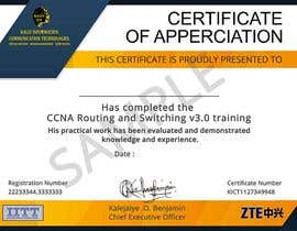 #26 for Training Certificate Design af DhanvirArt