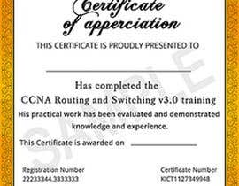 #35 for Training Certificate Design af DhanvirArt