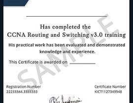 #37 for Training Certificate Design af DhanvirArt