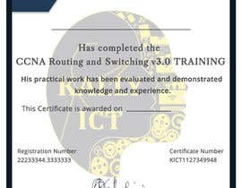 #46 for Training Certificate Design af DhanvirArt