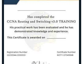 #52 for Training Certificate Design af DhanvirArt