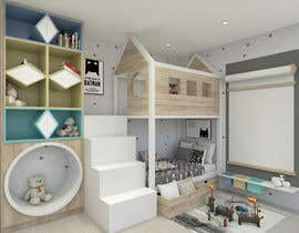 #21 untuk Interior design - Kids bedroom/playroom oleh M13DESIGN
