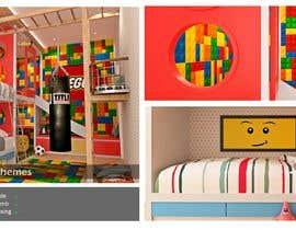 #11 untuk Interior design - Kids bedroom/playroom oleh faisolfuady
