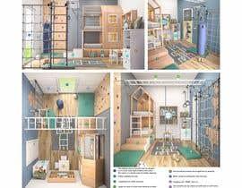 #32 untuk Interior design - Kids bedroom/playroom oleh salamonzsolt