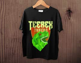 #55 untuk TeeRex Threads - Logo Design - Low Poly Art oleh deviantwolf