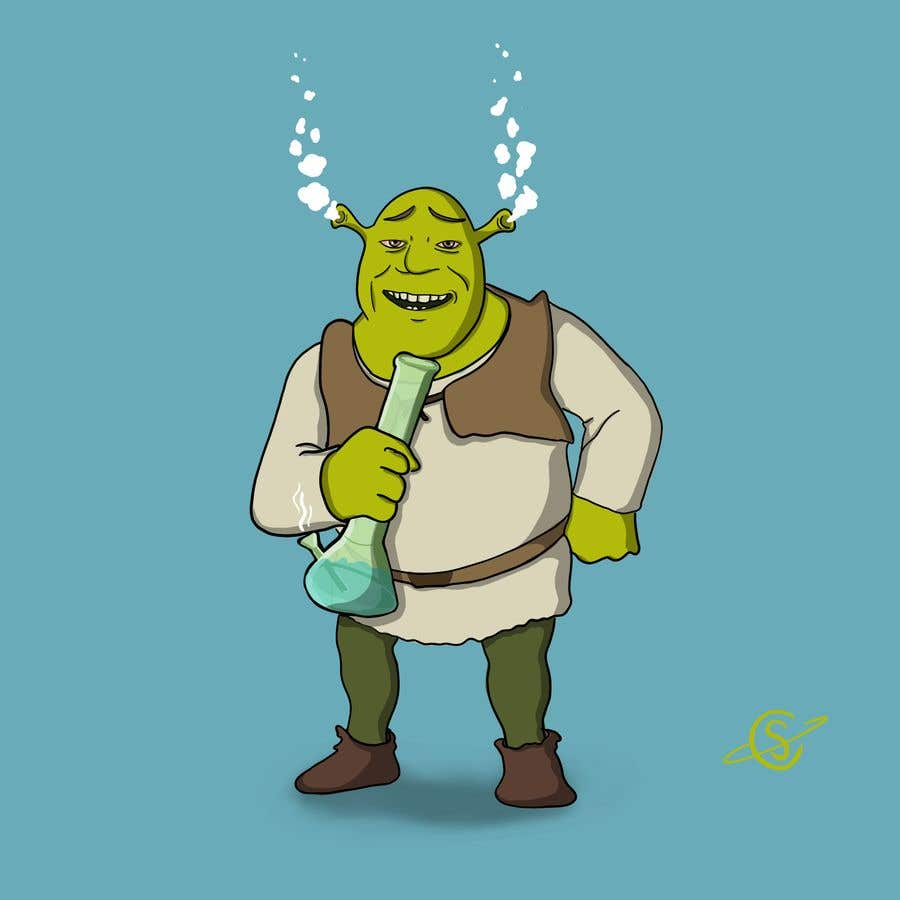 Entry 16 By Coreystrandberg For Create Cartoon Characters Smoking Weed Freelancer