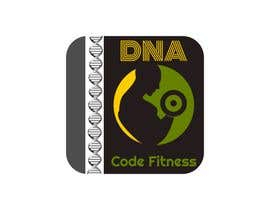 "Nro 11 kilpailuun Logo for ""DNA Code Fitness"". A masculine fitness line. The attached photo provides you with the kind of character we are looking for. Logo should include DNA imagery. Will need an image for social media use and one optimized for printing on clothing. käyttäjältä acucalin"