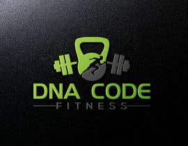 "Nro 12 kilpailuun Logo for ""DNA Code Fitness"". A masculine fitness line. The attached photo provides you with the kind of character we are looking for. Logo should include DNA imagery. Will need an image for social media use and one optimized for printing on clothing. käyttäjältä shahadatfarukom5"