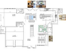 #25 para design 1st floor floor plan por Antonaq