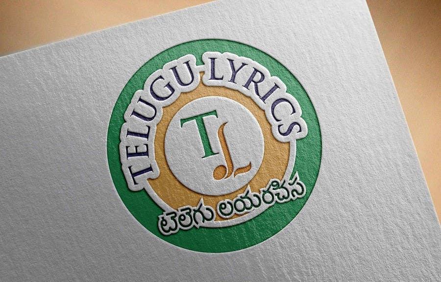 """Inscrição nº                                         22                                      do Concurso para                                         Design a Logo for Telugu Music Portal with Primary focus on """"Telugu Lyrics"""""""