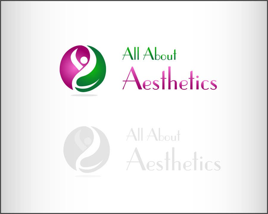 Proposition n°                                        44                                      du concours                                         Logo Design for All About Aesthetics