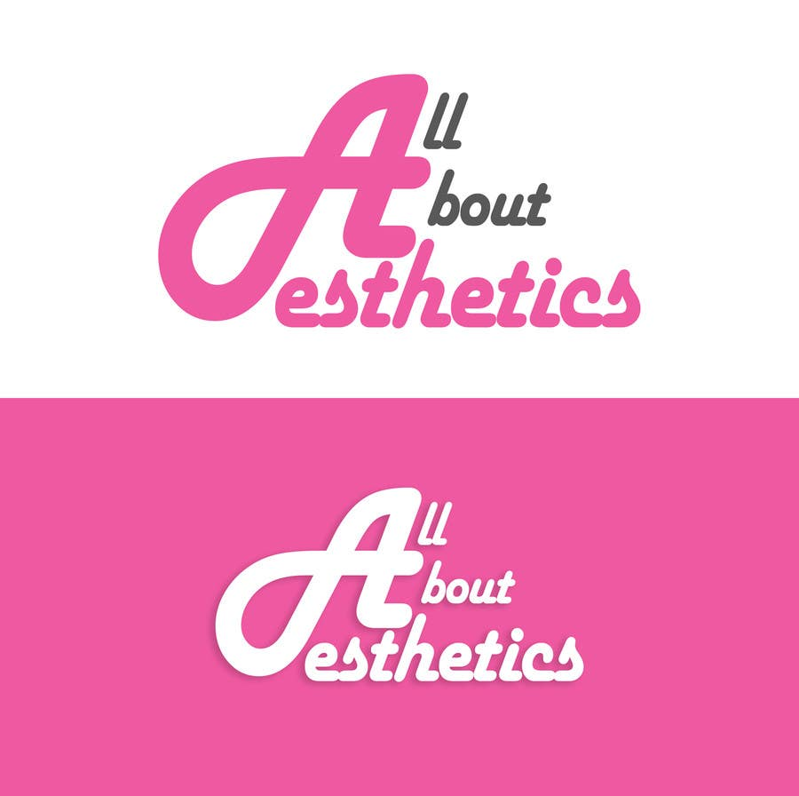Contest Entry #8 for Logo Design for All About Aesthetics