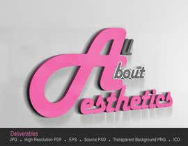 #74 para Logo Design for All About Aesthetics por Opacity