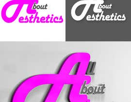 #77 para Logo Design for All About Aesthetics por Opacity