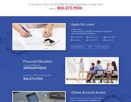 Nro 33 kilpailuun Design a Website Mockup for Credit Union (bank) käyttäjältä saidesigner87