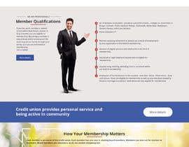 Nro 43 kilpailuun Design a Website Mockup for Credit Union (bank) käyttäjältä satishandsurabhi