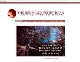 """#84 for Design a Logo for """"The Renegade Esthetician"""" by PodobnikDesign"""