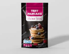 #6 for Create Packaging Design for Stand Pouch for TEFF PANCAKES by melyaalaoui