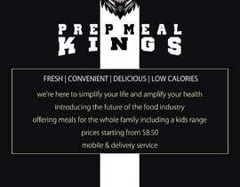 #10 for Prep Meals Flyer by benjab