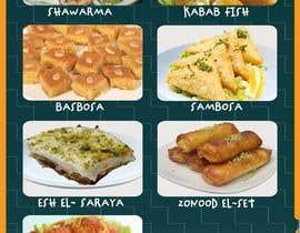 Nro 18 kilpailuun Design a Flyer (Food Menu) käyttäjältä gulenigar
