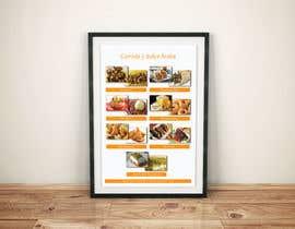 Nro 8 kilpailuun Design a Flyer (Food Menu) käyttäjältä aminnahida12