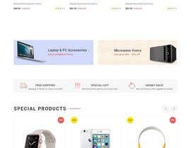 Nro 5 kilpailuun Responsive Theme Epages / Strato Webshop käyttäjältä webdesignmentor