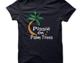 "#19 for Create ""Pissin' on Palm Trees"" Dog Shirt design by shawonbd58"