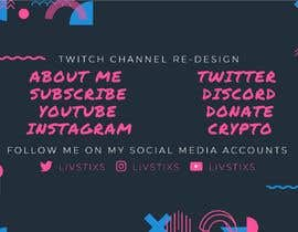 #11 for Twitch Channel Re-Design af mire56