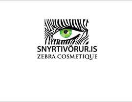 #40 pentru Logo Design for Snyrtivorur.is (and Zebra Cosmetique) de către nelegalaksija