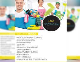nº 4 pour Design a Flyer for a professional cleaning company par ahaddipu