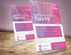 nº 23 pour Design a Flyer for a Personal Trainer par DjordjeSS