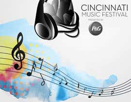#122 cho Cincinnati Music Festival Backdrop bởi jay198829