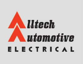 #9 for Business name- Alltech Automotive Electrical Colours prefered- Black White Orange Easily readable font with modern styling by Sandipan01
