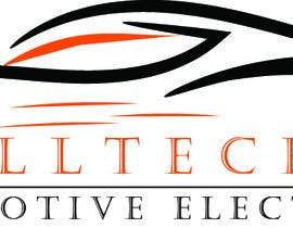 #11 for Business name- Alltech Automotive Electrical Colours prefered- Black White Orange Easily readable font with modern styling by emdadullahrayha9