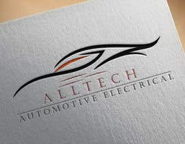 #23 for Business name- Alltech Automotive Electrical Colours prefered- Black White Orange Easily readable font with modern styling by emdadullahrayha9