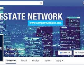 nº 12 pour Design a cool facebook timeline cover for a real estate network par bhawanaraj
