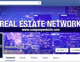 nº 14 pour Design a cool facebook timeline cover for a real estate network par bhawanaraj