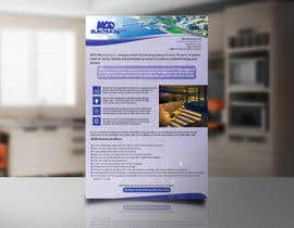 #7 для Design a 1 page cover letter for and electrical company от asfiaasa