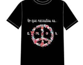 #5 for Necesito un montaje con un simbolo de la paz del estilo q envio y con unas letras como en la foto. Es para estampacion de camisetas. Me gustaria moverme en esa gama de colores by DrRappy