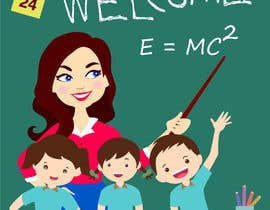 #5 para Design this girl as a teacher cartoon character. por almamunm558