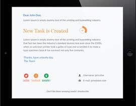 nº 14 pour Make a HTML email template par syrwebdevelopmen