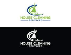 #301 para Logo design for house cleaning services por Jewelrana7542