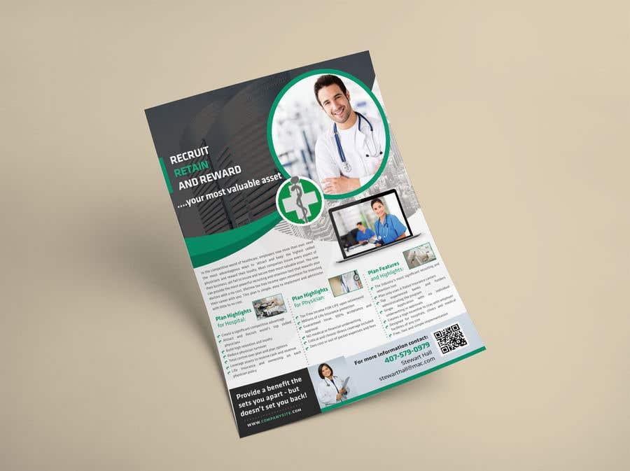 Penyertaan Peraduan #12 untuk Physician Flyer