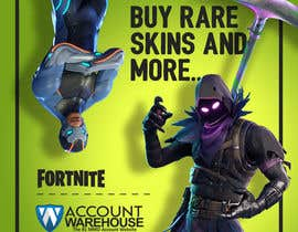 #15 dla Design multiple advertisements for Fortnite Instagram account. przez Artkisel