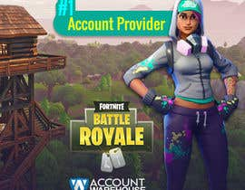 #8 for Design multiple advertisements for Fortnite Instagram account. by MarinaAtef96