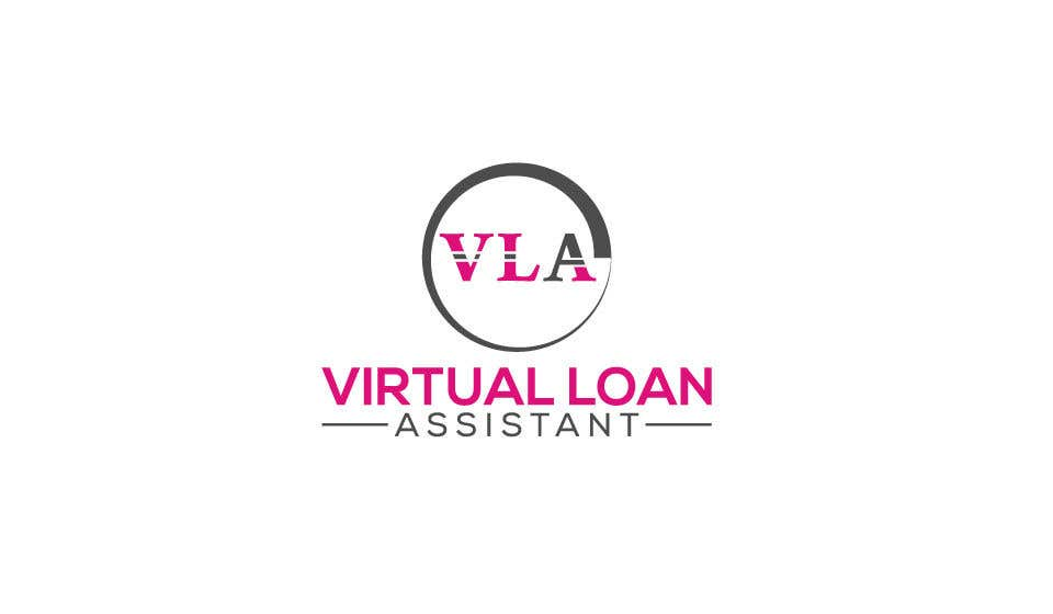 Contest Entry #86 for Logo kit  for ViRtual Loan Assistant - Logo- Business card design