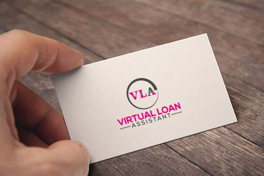 Contest Entry #87 for Logo kit  for ViRtual Loan Assistant - Logo- Business card design