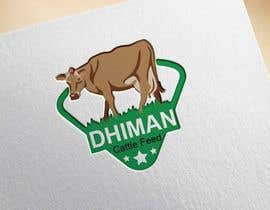 #52 para Design a Logo for Dhiman cattle feed with word Dhiman por sdshanto